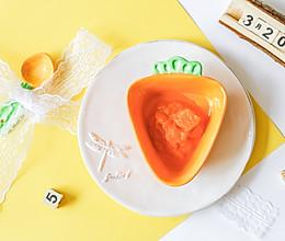 辅食日志 | 胡萝卜泥米糊的做法