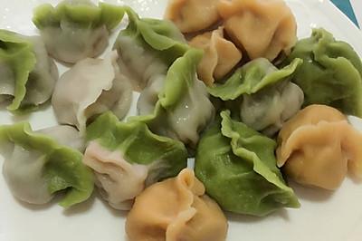 碧绿翡翠水饺