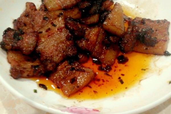 超简单秘制炒肉的做法
