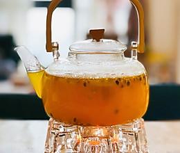 维C甜饮❤️百香果柠檬蜜茶的做法