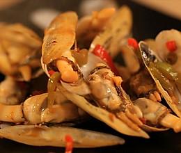 迷迭香—爆炒蛏子的做法