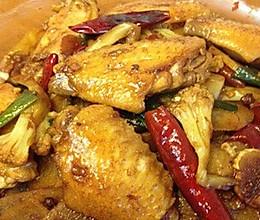 香辣干锅鸡翅的做法