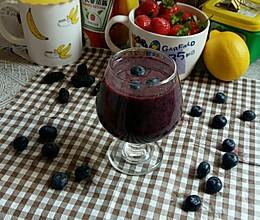 蓝莓汁的做法