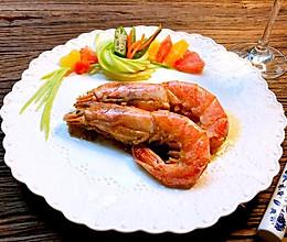 蒜蓉黄油阿根廷红虾#中粮我买,超模滋料大公开#的做法
