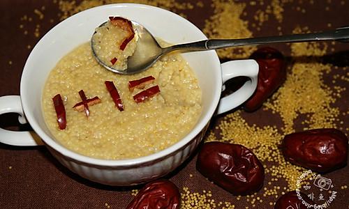 煮个好吃养胃的小米粥的做法