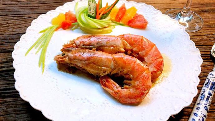 【新品】蒜蓉黄油阿根廷红虾