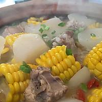 萝卜玉米排骨汤的做法图解14