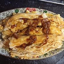 广东肠粉:鸡蛋虾米瘦肉肠粉