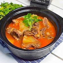 冬季必备西红柿炖牛肉
