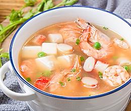 虾仁豆腐汤的做法