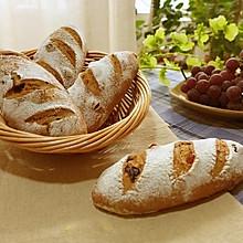 红酒葡萄干软面包