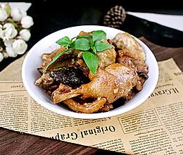 盘都想舔干净的美味~香菇芋头焖鸭的做法