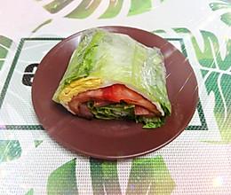 蔬菜三明治(简单又美味)的做法