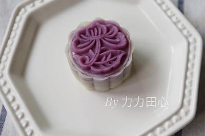 紫薯冰皮月饼(四个50g份量)