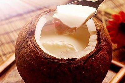 新鲜椰子油