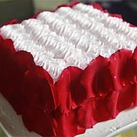 【番茄配方】玫瑰情人节蛋糕的做法图解10