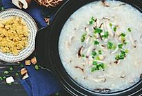 女王节要好好宠爱自己,来碗养胃香菇鸡肉粥的做法