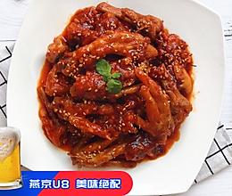 韩式火辣鸡爪#父亲节,给老爸做道菜#的做法