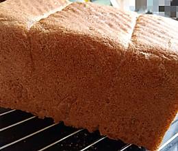 全麦面包(少油少糖)百分百全麦,减肥减脂必备全麦面包的做法