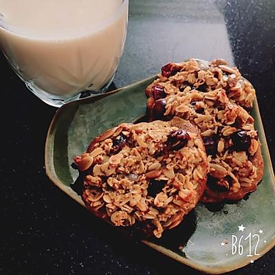 【健康零食】南瓜燕麦干果饼干