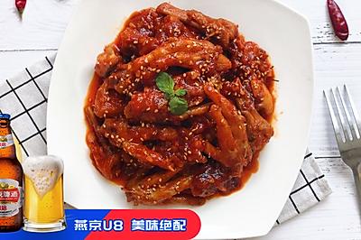 韩式火辣鸡爪