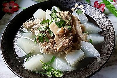 羊骨萝卜汤#盛年锦食·忆年味#
