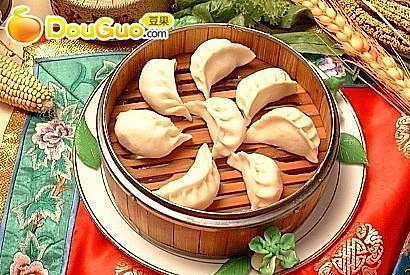 三鲜蒸饺的做法