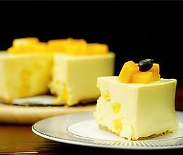 芒果芝士慕斯【微体兔菜谱】的做法