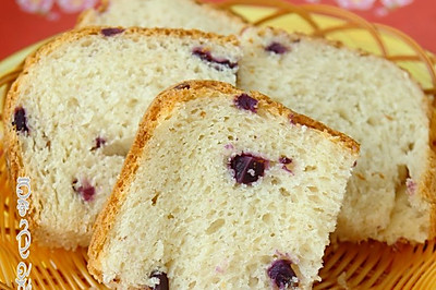 紫薯粒吐司面包