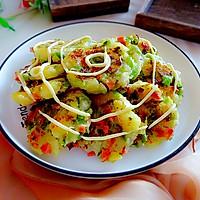#一起土豆沙拉吧# 这小饼这么做太好吃了,孩子最爱的做法图解10