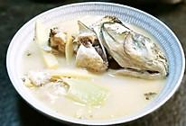 一鱼两吃(上)竹笋奶汤#春天肉菜这样吃#的做法
