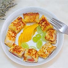 法式吐司卷(吐司的花样吃法)