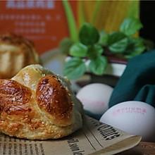 """#2021亲子烘焙组——""""焙""""感幸福#椰蓉面包"""
