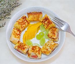 法式吐司卷(吐司的花样吃法)的做法