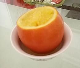 化痰止咳炖橙子的做法
