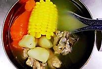 猪脊骨马蹄玉米胡萝卜汤的做法
