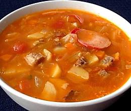 减脂长高罗宋汤的做法