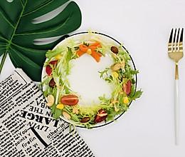 蔬菜花环沙拉(西餐里的前菜)的做法