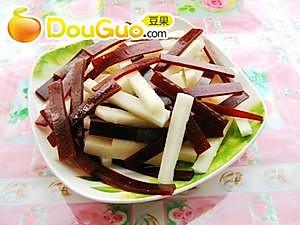 京糕凉薯的做法