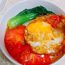 #今天吃什么#方便营养的番茄鸡蛋面