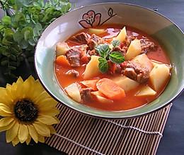超级下饭菜——番茄牛腩的做法