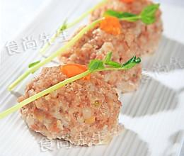 咸蛋莲藕肉丸的做法