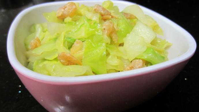 虾米卷心菜