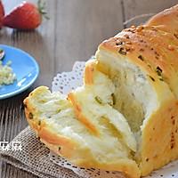 """【蒜香乳酪手撕面包】适合众人分享的""""咸鲜小吃""""的做法图解11"""