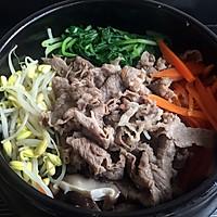 石锅肥牛拌饭的做法图解4