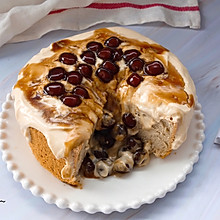 #好吃不上火#爆浆珍珠蛋糕