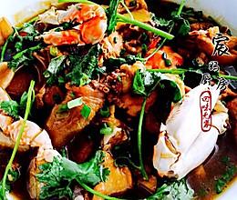 粤菜鸡蟹煲的做法
