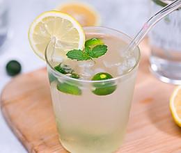 自制冰爽青桔柠檬水,堪称夏日最佳冰饮!的做法