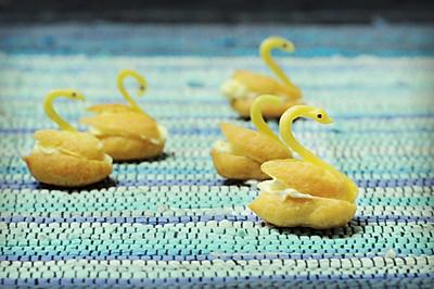 天鹅泡芙,为宝宝插上梦想的翅膀#九阳烘焙剧场#