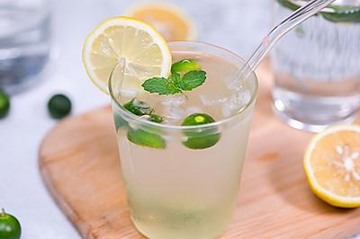 自制冰爽青桔柠檬水,堪称夏日最佳冰饮!